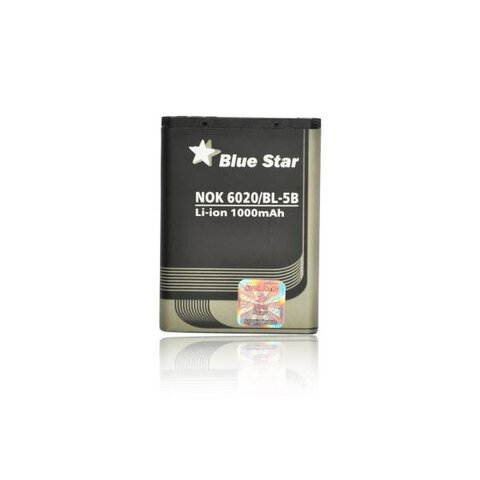 Bateria Premium Blue Star BL-5B do Nokia 6020 / 5200 / 5300 1000mAh
