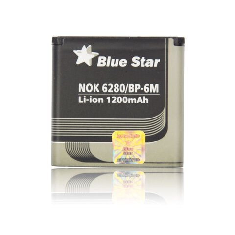 Bateria Premium Blue Star BP-6M do Nokia 6280 / 9300 / 6151 / N73 1200mAh