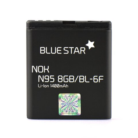 Bateria Premium Blue Star BL-6F do Nokia N95 8GB 1400mAh