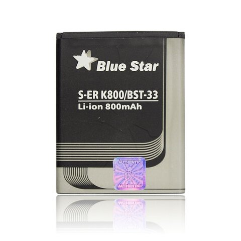 Bateria Premium Blue Star BST-33 do Sony Ericsson K800 / W595 / M600i 1100mAh