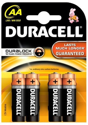 Baterie alkaliczne Duracell Basic C&B LR6 AA (blister)