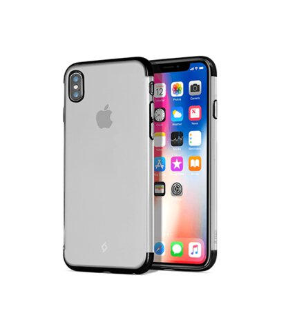 Etui TTEC ChromeClear Iphone X transparent black
