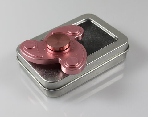 Fidget Spinner METAL FLOW PINK