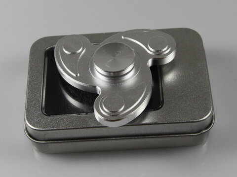 Fidget Spinner METAL FLOW SILVER