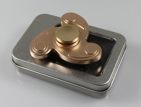 Fidget Spinner METAL FLOW GOLD