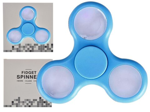 Fidget Spinner Minele LED Blue