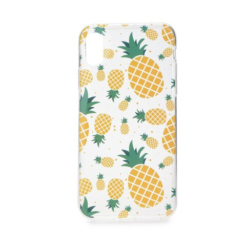 Futerał Forcell Summer PINEAPPLE  Huawei MATE 10 LITE Ananasy