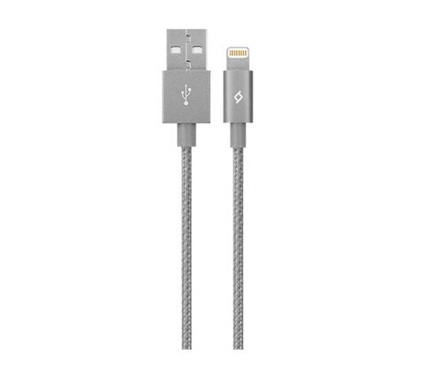 Kabel TTEC Alumicable MFI Lightning szary