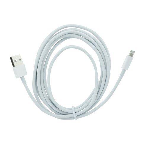 Kabel USB do Apple iPhone / iPod / iPad 8pin lightning 3m biały