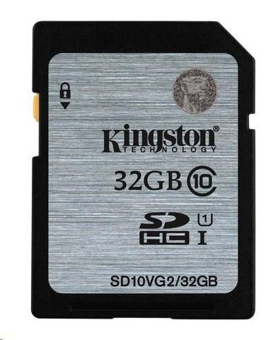 Kingston SDHC 32GB class 10 UHS-I - 45MB/s
