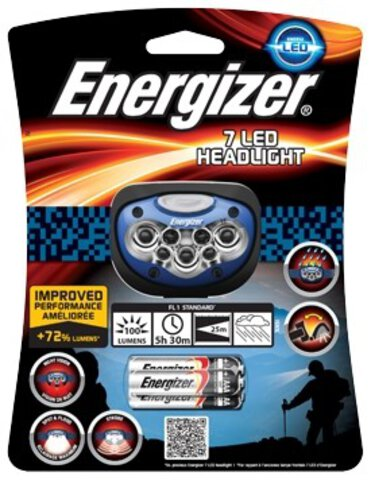Latarka czołowa Energizer Advanced Pro-Headlight 7LED