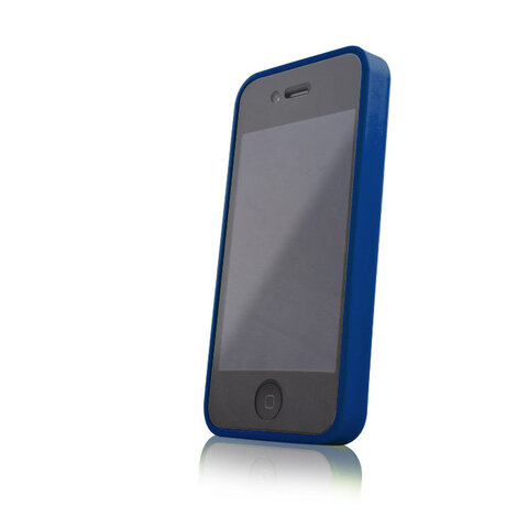 Nakładka Hybrid (CASE + BUMPER) do Apple iPhone 4 / 4S niebieski