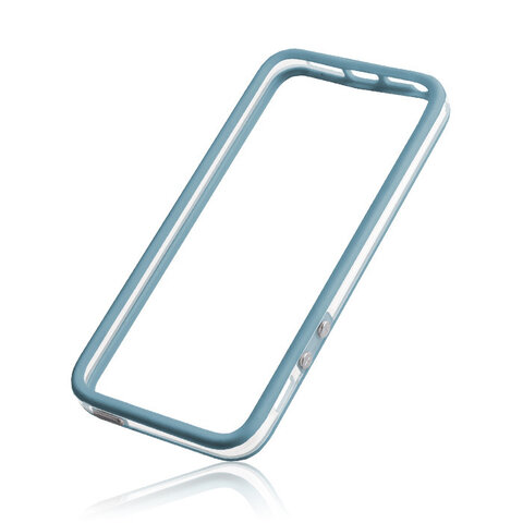 "Nakładka na brzegi Bumper Clear do Apple iPhone 6 (4,7"") niebieski"