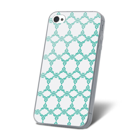 Nakładka Ultra Trendy Lace Mint do iPhone 5 / 5S