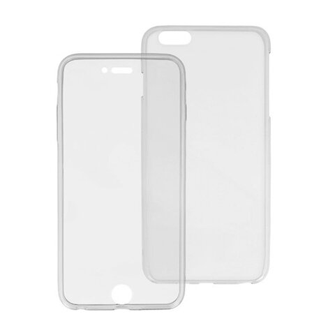 Nakładka żelowa Full Body Case do iPhone 6 Plus transparentna (przód i tył)