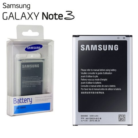Oryginalna bateria B800BE do Samsung Galaxy Note 3 N9005 LTE 3200mAh blister
