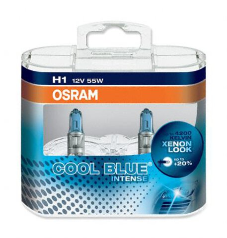 Osram H1 Cool Blue Intense duo pack