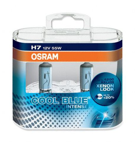 Osram H7 Cool Blue Intense duo pack