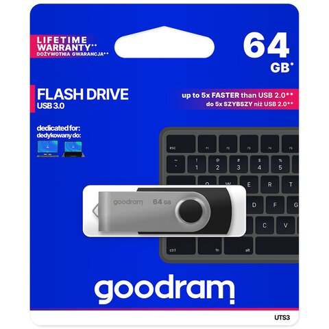 Pendrive USB 3.0 GoodRam UTS3 64GB