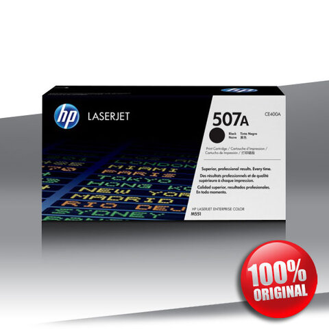 Toner HP 507A (551/575) ENTERP. M CLJ BLACKOryginalny 5,5K